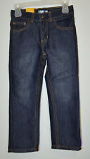 Jumping Beans Toddler Boys Adjustable Waist Skinny Blue Jeans Size: 4T NWT