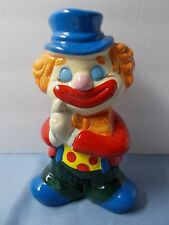 Clown Vintage  Coin Bank  RETRO   from 1980's  Unique collector find