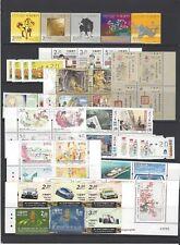 China Macau 2018 狗年 年票  Whole Year of Dog Full stamp set