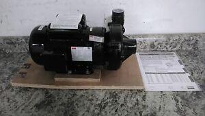 Dayton 2ZXN6 2 HP 3450 RPM 120/240VAC Straight Centrifugal High Head Pump