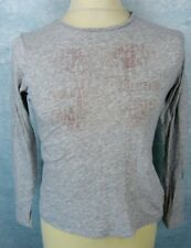 IKKS Haut Taille S / 162 cms - Gris - manches longues