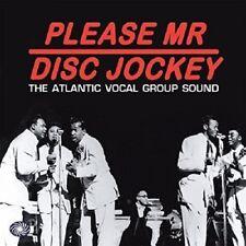 Please Mr Disc Jockey-Atlantic Vocal Group Sound 3-CD NEW SEALED Drifters/Flyers