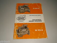 Betriebsanleitung / Instruction Manual Volvo Penta D 50 A / D 70 A Dieselmotor