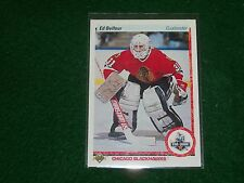 ed belfour  (chicago black hawks-g) 1990/91 upper deck ROOKIE card #55 mint