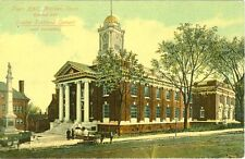 Meriden,Ct. The Town Hall made exclusively from Dexter Portland Cement
