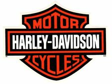"7-1/4"" GENUINE HARLEY DAVIDSON BAR AND SHIELD ~ OUTSIDE WINDOW DECAL STICKER!"