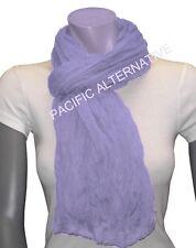 Foulard Violet Clair grand gros 110x170 femme mixte chale echarpe NEUF scarf