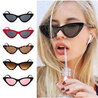 Hot Classic Cat Eye Sunglasses Small Retro Vintage Women Fashion Shades Eyewear