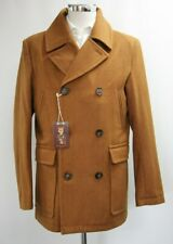 Men's Harry Brown Double Breasted Burnt Orange Short Coat (M).. Sample 6222