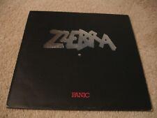 Zzebra - Panic LP Record Album Jazz Prog Funk 1975 Polydor UK Import EX Vinyl