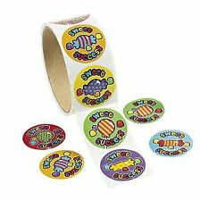 Sweet Success Roll Stickers 1 Roll of 100 stickers