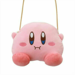 Cute Kirby Plush Shoulder Bags