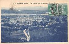 CPA 69 CONDRIEU VUE GENERALE PRISE ROUTE DE RIVE DE GIER