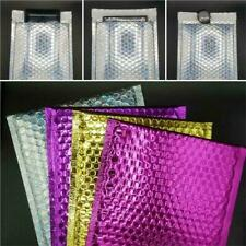 Shiny Metallic Coloured Gold Silver Pink Purple Bubble Padded Mailing Envelope