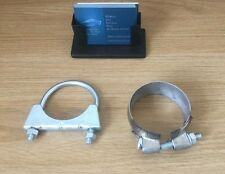EMCP057 Exhaust DPF Diesel Particulate Filter Fitting Kit two Clamps FK11014