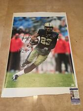 Tyler Boyd Autographed CANVAS 35X24 Inscribed  JSA SD17550