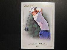 2016 Goodwin Champions JUSTIN THOMAS RC ROOKIE CARD 18 Just Won PGA