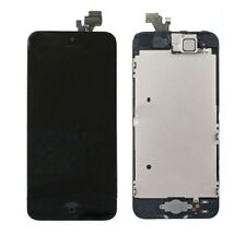 Complete LCD Touch Screen+Camera+Button Digitizer Assembly  for iPhone 5 black