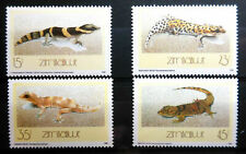 ZIMBABWE, SC 578-581, 1989 Lizards issue. MNH.