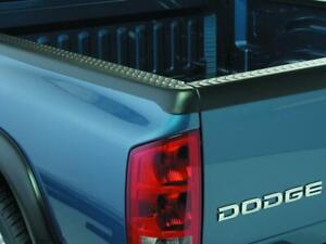 Bushwacker Fleetside Bed Rail Caps Pair Black (59511) for 02-08 Dodge Ram 1500