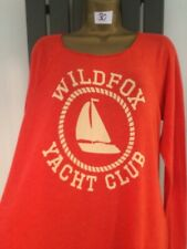 WILDFOX SLOUCH TOP SIZE LARGE 12/14