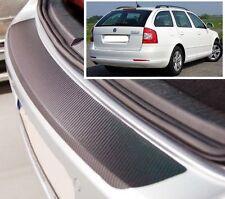 Skoda Octavia MK2 1Z5 Estate - Carbon Style rear Bumper Protector