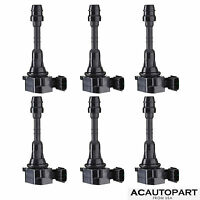 New Set of 6 Ignition Coil pack for  Maxima Frontier Xterra Altima