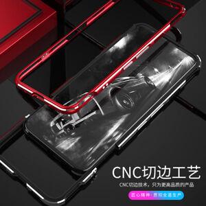 For ZTE Nubia Red Magic 6 / 6 Pro Case Metal Aluminum Bumper Frame Back Cover