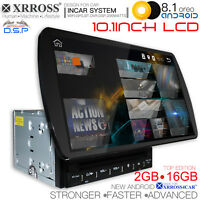 XRROSS Android 8.1 Car player auto radio GPS 2 Din 2GB+16GB 10.1 inch with DSP