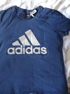 Ladies Adidas T-shirt  Size L