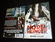Model Hunger DVD signed by Tiffany Shepis, Lynn Lowry + 4 other cast & crew