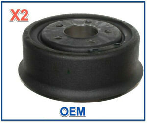 2 Rear Brake Drums AcDelco 5 Lug Left & Right Replace JEEP OEM # 18028545