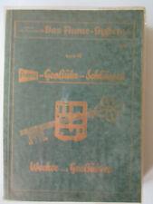 Fachbuch Flume Großuhrschlüssel Wecker und Großuhren von 1957