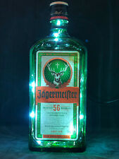 Jagermeister Jager Spirit Bottle Led (Choice of Colour) Lamp Light Pub Club