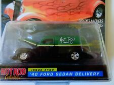 "Racing Champions Hot Rod 1940 Ford Sedan Delivery 1:64 -3 1/4"" Long -Nip"