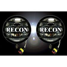 "RECON 264517 4"" Round Black Running Lights LED"