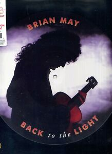 BRIAN MAY (QUEEN) -  Back to the light - LP (33 TOURS) - Picture disc
