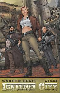 Avatar Press Warren Ellis' Ignition City #5 of 5 (Variant Cover) 2009 Very Fine