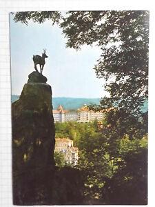 AK Karlovy Vary Karlsbad CSSR Ansichtskarte 1970er ? ungelaufen