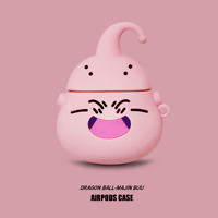Dragon Ball Z Majin Buu Silicone Case For Apple Airpods (1ST & 2nd Generation)