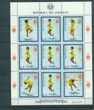 Paraguay Kleinbogen 3615 , ** , Olympische Spiele 1984