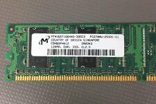 Micron MT4VDDT1664AG-335C3 MICRON 128MB PC2700U RAM Memory