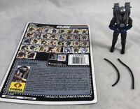 GI Joe 1990 Laser Viper V1 100% Complete w/ Uncut Card Hasbro ARAH Vintage