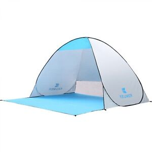 Beach Shelter Up Pop Sun Tent Shade Camping Canopy Outdoor Fishing Portable