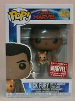 Funko Exclusive POP Marvel Collector Corps Nick Fury and Goose 2019