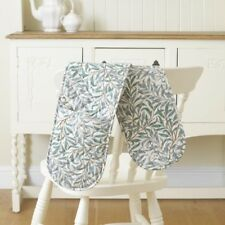 William Morris Willow Bough Green Floral Oven Glove