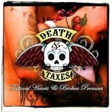 """DEATH & TAXES """"TATTOOED HEARTS & BROKEN PROMISES""""CD NEW!"""