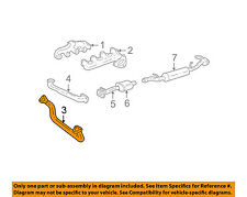 GM OEM Exhaust System-Front Pipe 10191474