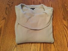 Ann Taylor Lavender Drape Neck Cashmere/Wool Blend Sweater Size S