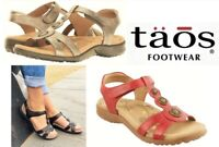 Taos Footwear Comfort Walking Sandals leather Taos Shoes Treasure 2 SALE PRICE